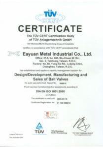 certificado eayuan
