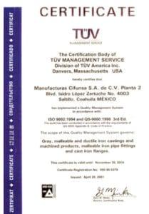certificado cifunsa