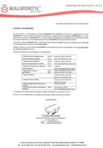 certificado wawolrth